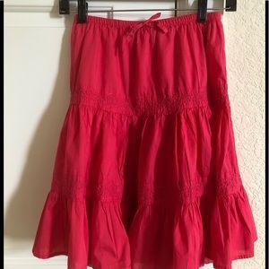 Cap kids cotton skirt